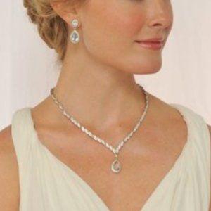 Carolee Iman Crystal Necklace